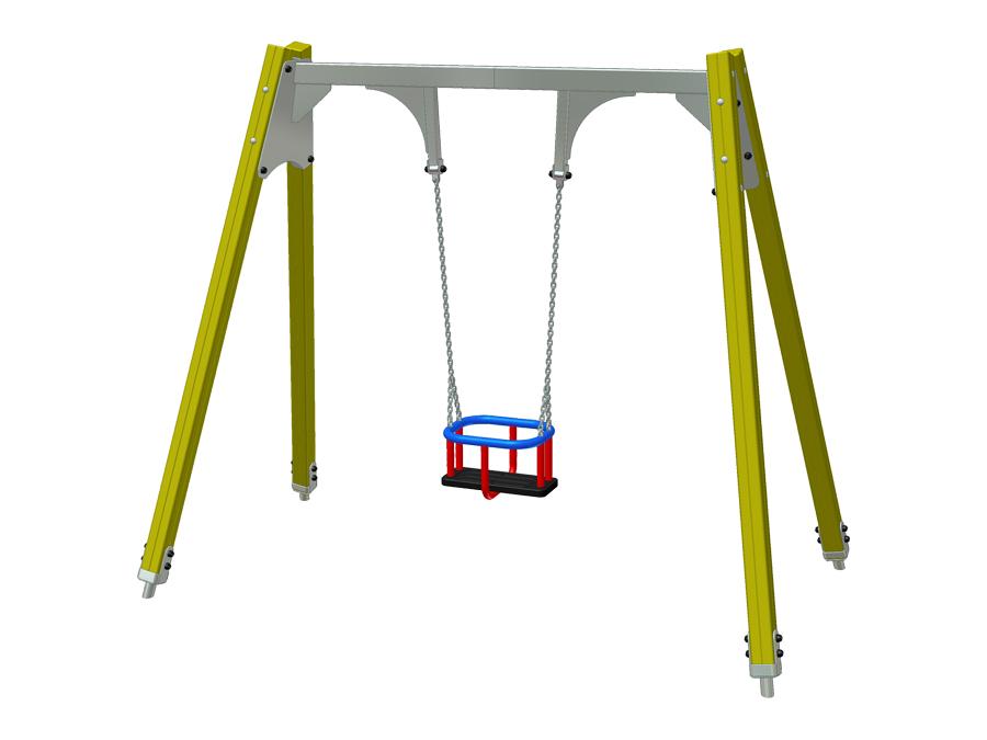 Závěsná houpačka 1M - sedačka T