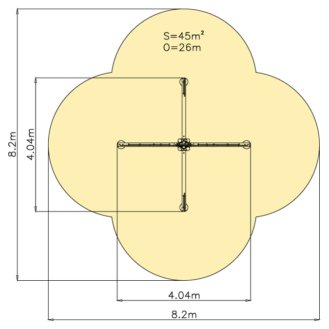 Váhová houpačka Palma