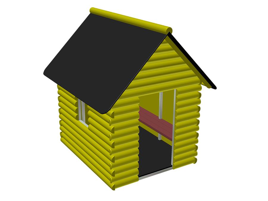 Srubový domeček