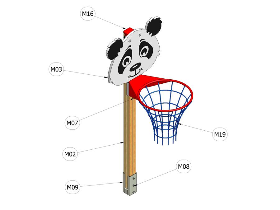Prohazovadlo Panda