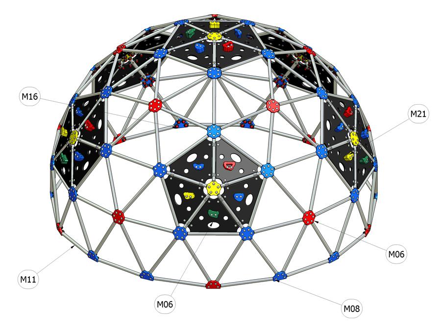 Kupole 3v 2000D