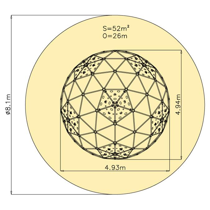 Kupole 3v 2990D