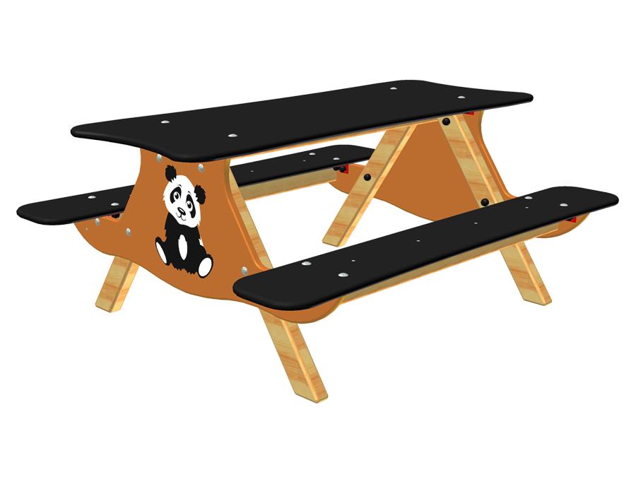 Stoleček Panda