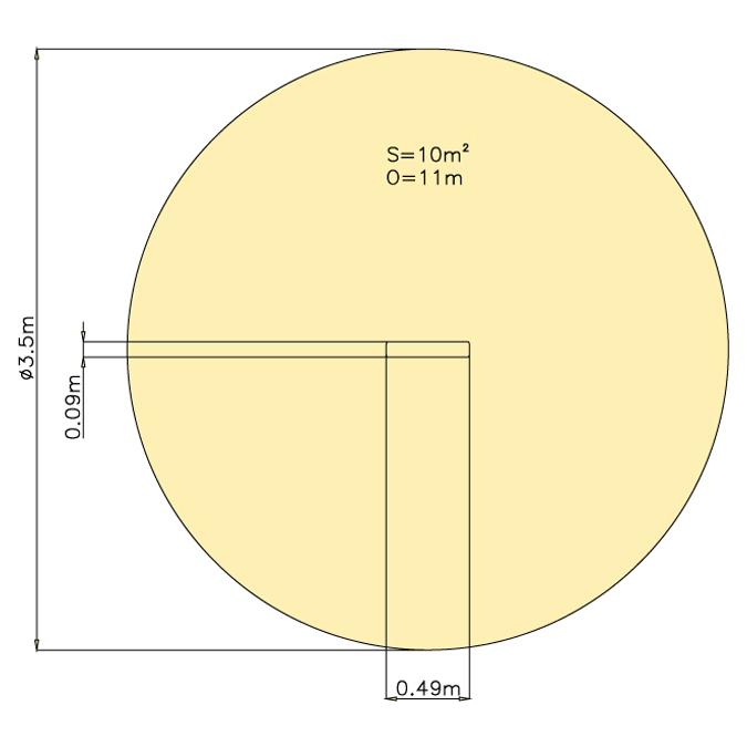 Tabulka na dětská hřiště (Piktogram)