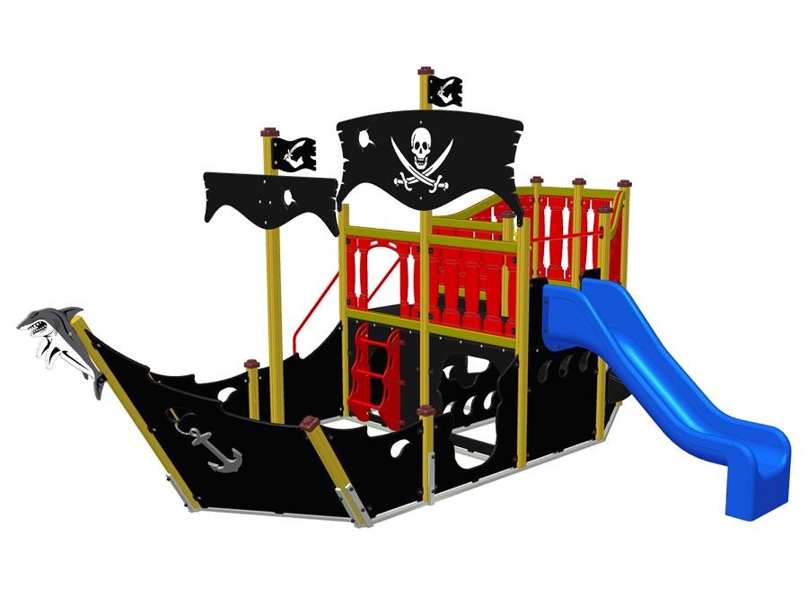 Pirátská loď - Žralok