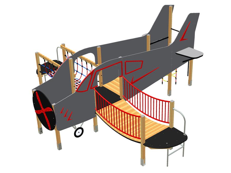 Letadlo dolnoplošník